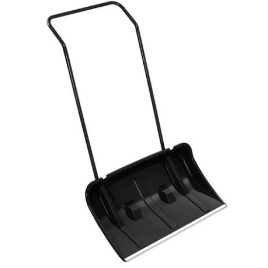 Лопата скрепер для снігу  професійна  OSTERO Чорна 80см