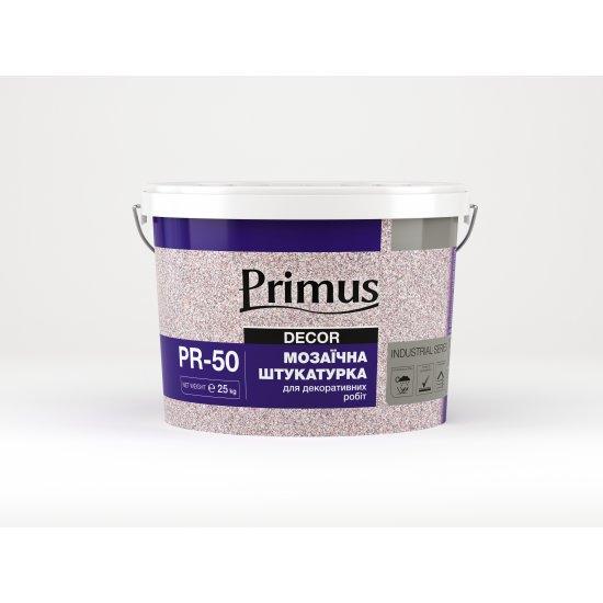 """Мозаїчна штукатурка PR-50 """"PRIMUS"""" (для декоративних робіт) 25 кг"""