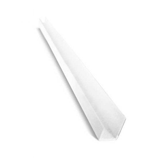 Рейка торцовочна пластик 12,5 мм 2,5 м
