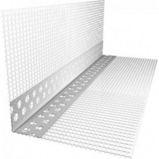 ГК Кутик Пластиковий з сіткою (контрашульц) 2,5 м
