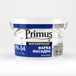 Фарба силіконова фасадна база (біла) «PRIMUS» 20 л
