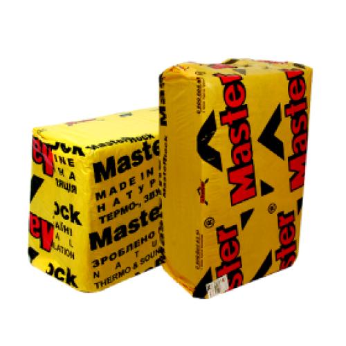 """MASTER-ROCK 30"""" 100 мм (5 шт. в уп.) Мінераловатні плити, натуральна термо- звукоізоляція"""