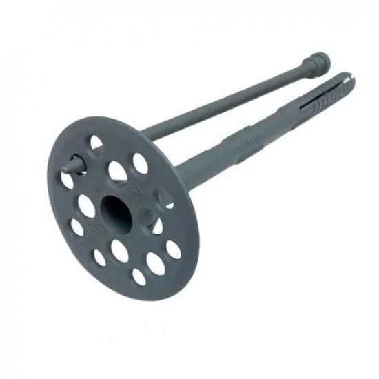 ТД-10*160 (СІРИЙ КОЛІР) Термодюбель з пластиковим стрижнем (фас.50)