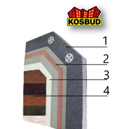 Система фінішного декоративного покриття KOSBUD TABULO, за м²