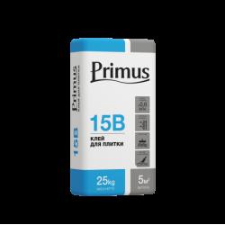 """Клей для кахельної плитки 15В """"PRIMUS"""" (для внутрішніх робіт) 25 кг"""