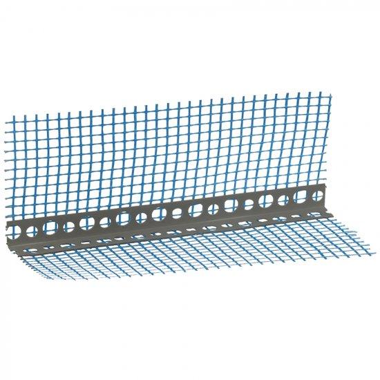 Кутик ПХВ перфорований з сіткою 3,0 м (7*7м)