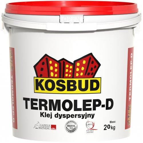 Дисперсійний клей, KOSBUD TERMOLEP-D (TABULO, STONO), 20 кг