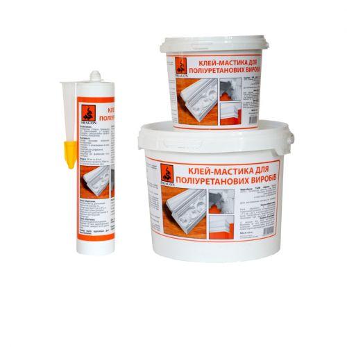 """Клей-мастика для поліуретанових виробів """"PRIMUS"""" (для приклеювання тяжких багетів, гіпсових ) 280 мл"""