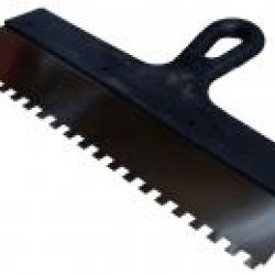 Woffmann шпатель для клею, зубчастий 6х6 100mm