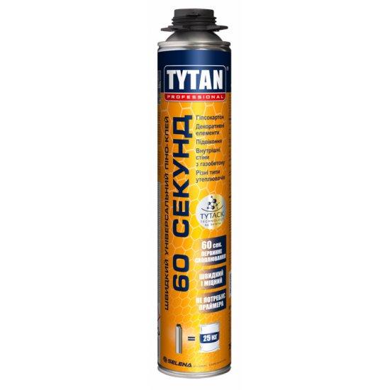 Tytan Professional швидкий універсальний піно-клей 60 секунд, 750мл