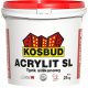 "Штукатурка силіконова, KOSBUD ACRYLIT-SL, ""короїд"", база, 25 кг"