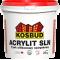 """Штукатурка силіконова машинного нанесення, KOSBUD ACRYLIT-SLN, """"баранець"""", світла база,  25 кг"""
