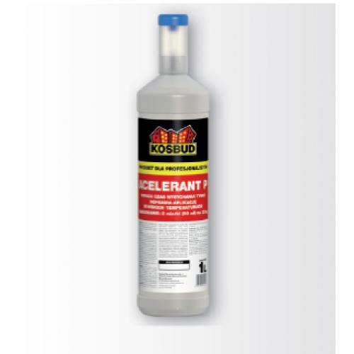 Препарат прискорюючий висихання тонкошарової штукатурки KOSBUD ACELERANT P, 1 л