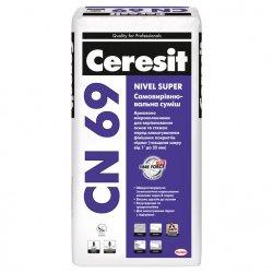 Ceresit Nivel Super CN 69 самовирівнююча суміш, 25 кг