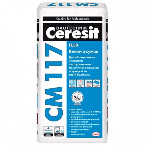 Ceresit СМ-117, клеюча суміш, 25кг.