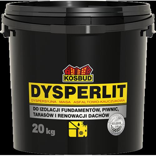 Дисперсійна асфальтно-каучукова маса KOSBUD DYSPERLIT, 20 кг