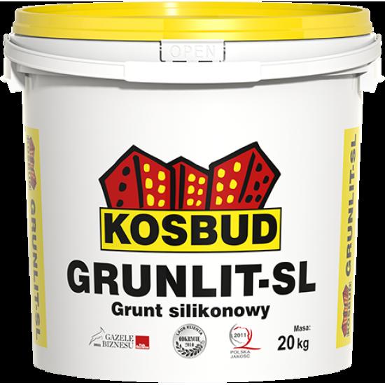 Грунт силіконовий, KOSBUD GRUNLIT-SL, (без піску) 20 кг