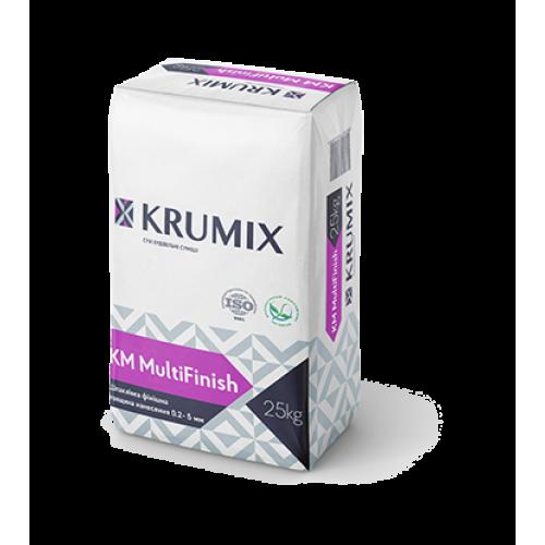KM MultiFinish KRUMIX Шпаклівка гіпсова фінішна, 25 кг.
