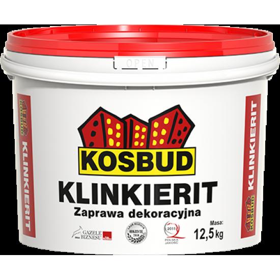 Штукатурка силіконова, KOSBUD KLINKIERIT (імітація цегли), 12,5 кг