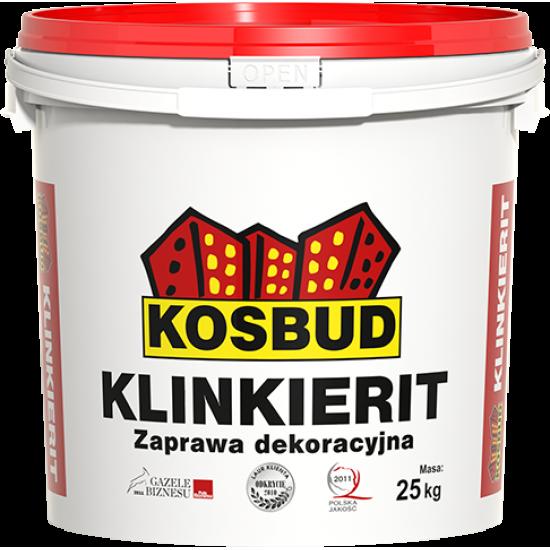 Штукатурка силіконова, KOSBUD KLINKIERIT (імітація цегли), 25 кг