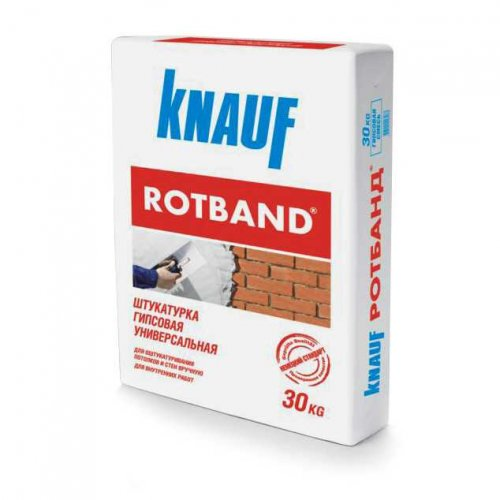 Knauf Штукатурка Rotband, 30 кг