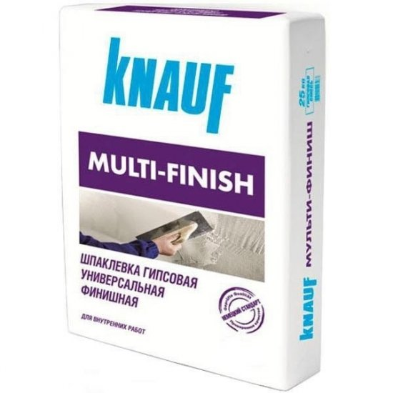 Knauf Шпаклівка Multifinish, 25 кг.