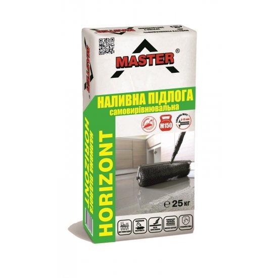 MASTER HORIZONT Суміш для влаштування покриття підлог, 25кг