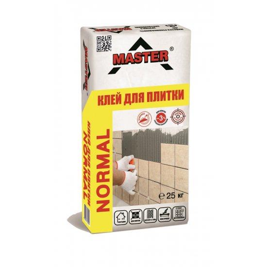 MASTER NORMAL Клейова cуміш для облицювання  керамічною плиткою, 25 кг