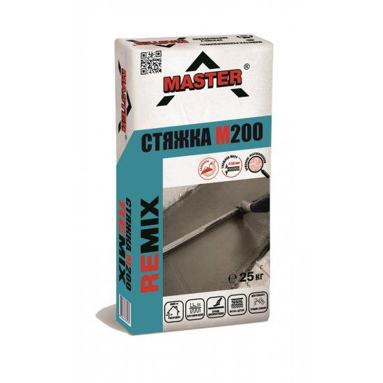 MASTER REMIX Суміш цементна армована для влаштування підлоги та ремонту основ з бетону