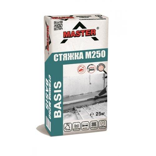 MASTER BASIS Стяжка для вирівнювання і ремонту підлог, 25 кг