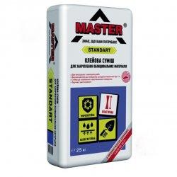 MASTER STANDART Клейова суміш для закріплення облицювальних матеріалів, 5 кг