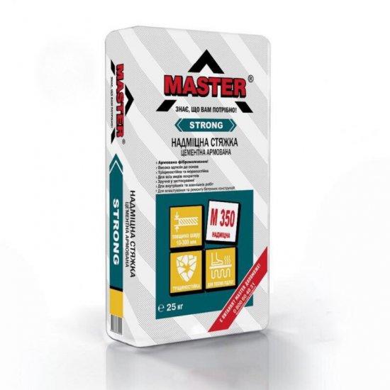 MASTER-STRONG Надміцна стяжка цементна армована