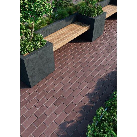 Monolit Bruk Тротуарна плитка «Цеголка» (фаска)
