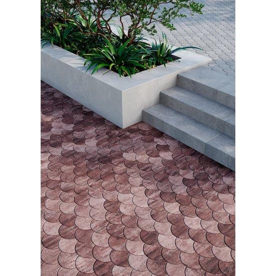 Monolit Bruk Тротуарна плитка «Луска» (фаска)