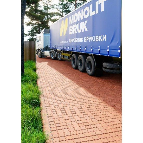 Monolit Bruk Тротуарна плитка «Хвиля г-подібна» (фаска)