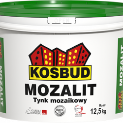 Штукатурка мозаїчна акрилова, KOSBUD MOZALIT, серія ЕХ, 12,5 кг