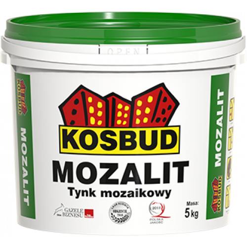 Штукатурка мозаїчна акрилова, KOSBUD MOZALIT, серія NTM, 5 кг