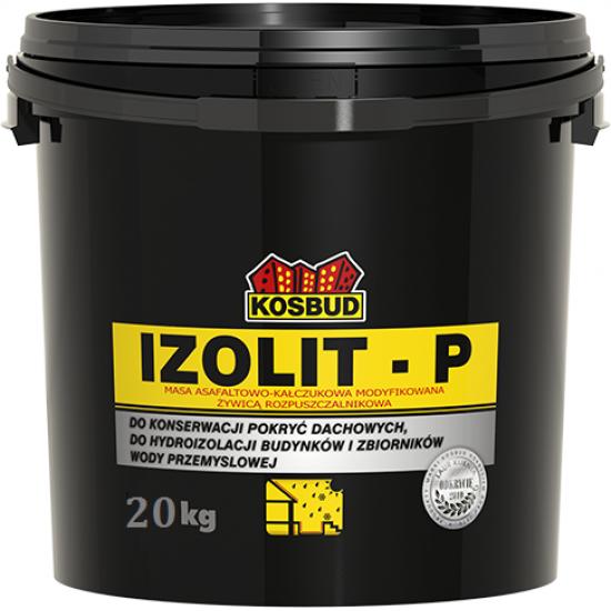 Асфальто-каучукова маса модифікована смолою, KOSBUD IZOLIT-Р, 10 кг