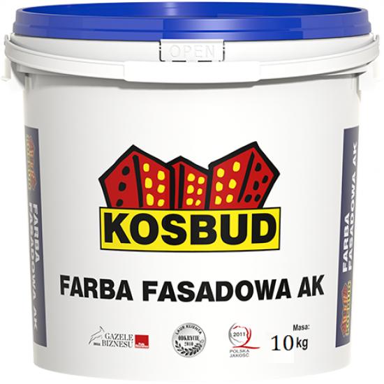 Фасадна фарба акрилова  KOSBUD-AK-20 кг