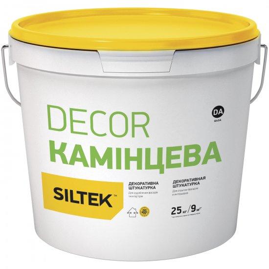 """Siltek DECOR """"Камінцева"""" Штукатурка декоративна 1,5 мм, База DA, 25 кг"""