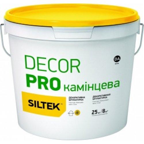 "Siltek Decor Pro Штукатурка декоративна ""камінцева"" (1,5 або 2,0 мм), База DA, 25 кг"