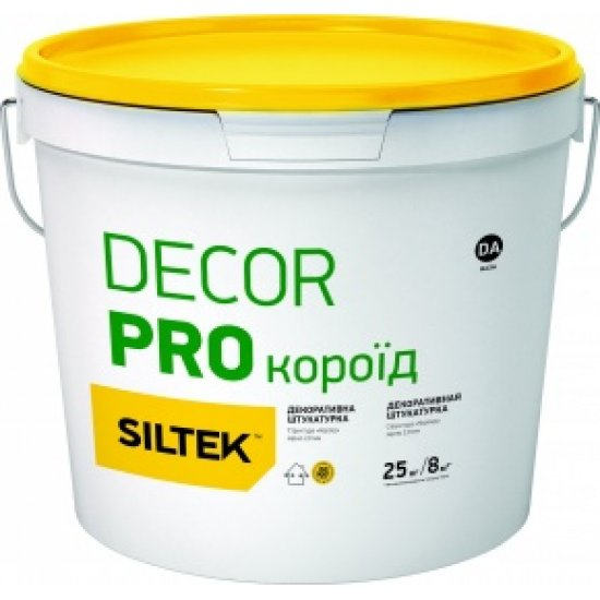 "Siltek Decor Pro Штукатурка декоративна ""короїд"" (2,0 мм), База DA, 25 кг"
