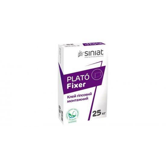 PLATO FIXER  Клей для гіпсокартону та гіпсових виробів, 25 кг
