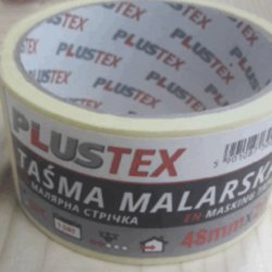 Стрічка малярна PLUSTEX 19мм*20