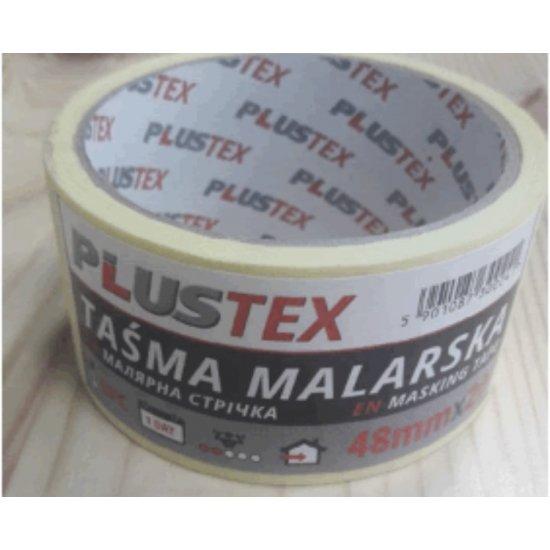 Стрічка малярна PLUSTEX 48мм*20 (30)