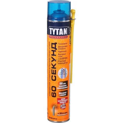 Tytan Professional швидкий універсальний піно-клей 60 секунд, 750мл, ручка