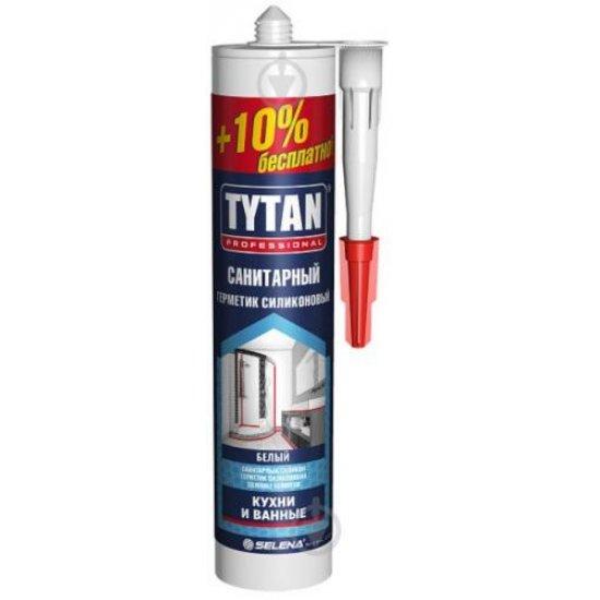 Tytan Силікон санітарний +10%, 310 мл, безбарвний