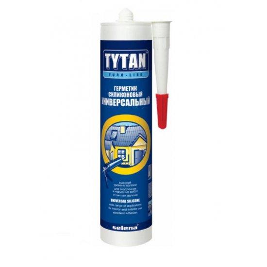 Tytan Euro-Line герметик силіконовий універсальний, 290 мл., безбарвний