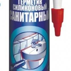 Tytan Euro-Line герметик силіконовий санітарний 290 мл,білий