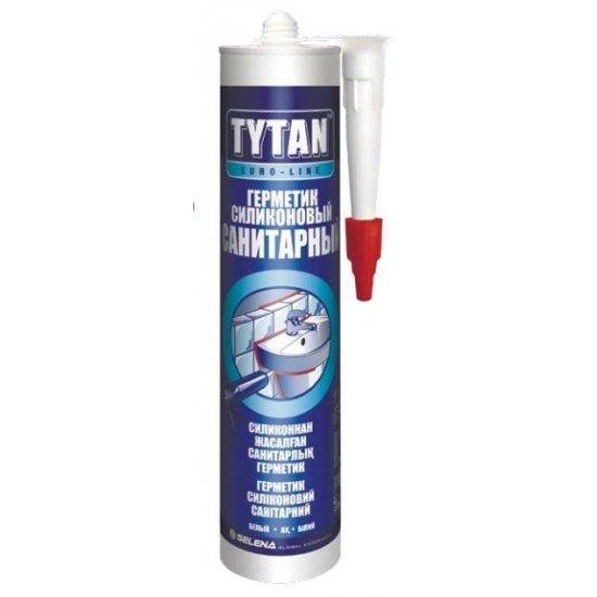 Tytan Euro-Line герметик силіконовий санітарний 290 мл,безбарвний